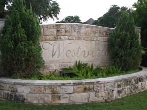 Westview on Lake Austin sign