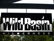 wild basin sign