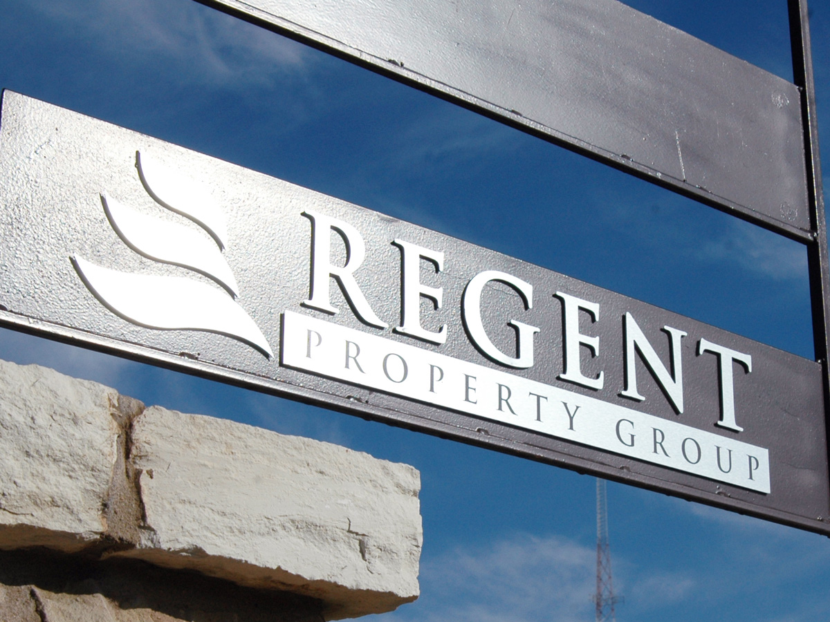 Regent Property Group Office Signage