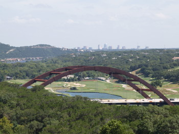 Westlake area from Pennybacker Bridge